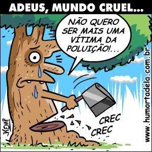 Charges do Dia Mundial do Meio Ambiente! | inteligenteonline